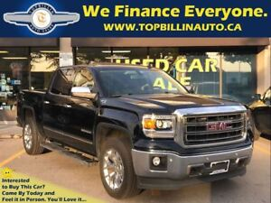2014 GMC Sierra 1500 SLT Sunroof, Leather, Backup Cam, 56K kms