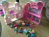Disney princess play set with figures