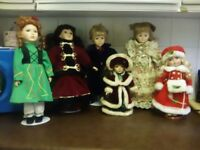 Lovely dolls for sale as i have too many but little space for them.extra clothes along with them.