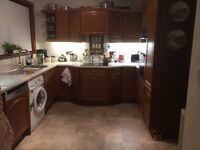 Solid Oak Kitchen units for sale, good condition.