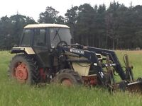 SOLD David Brown 1490 tractor with front loader