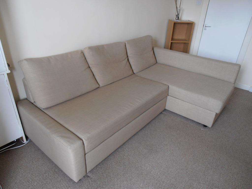 Corner sofa bed beige united kingdom gumtree for Sofa bed glasgow