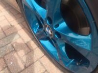 SET OF 4 ALLOY WHEELS REFURBISHED/COLOUR CHANGE FROM £100.00