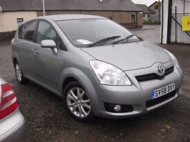 Toyota Corolla Verso 2.2 D-4D SR 7 seater, full leather low miles