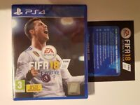 Fifa 18, Brand New & Sealed PS4