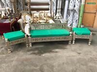 Wedding/Mehndi Stage Decor Furniture