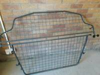 VW Touran 2005 model dog guard and boot cover