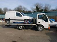 Recovery and vehicle transport