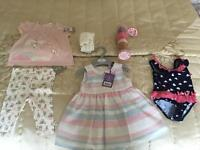 Baby girls clothes bundle 3-6 months (all new with tags)