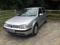 Volkswagen GOLF TDI PD SE 1900 Silver 5dr, A/C, Cruise control, Good CD HI-FI, Alarm.
