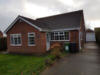 PRIVATE LANDLORD 3 Bed Detached Bungalow. Front & back garden, driveway & garage. GCH.