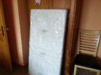 Cot Bed Fibre Mattress 140/70 cm
