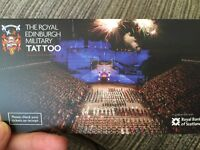 Edinburgh Military tattoo tickets x2