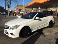 FULLY LOADED 10K+ ADDITIONS MERCEDES E350 SPORT CONVERTIBLE, TOP SPEC