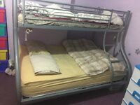 Triple bunk bed & single bed frames to sales
