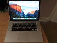 "Macbook Pro Late 2008 - Unibody 15"""