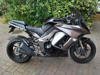 2012 Kawasaki Z 1000 SX motorcycle, long MOT, very good runner, very good condition, ride away,,,