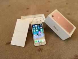 Iphone 7 - 128Gb - O2/Giffgaff/Tesco - Boxed