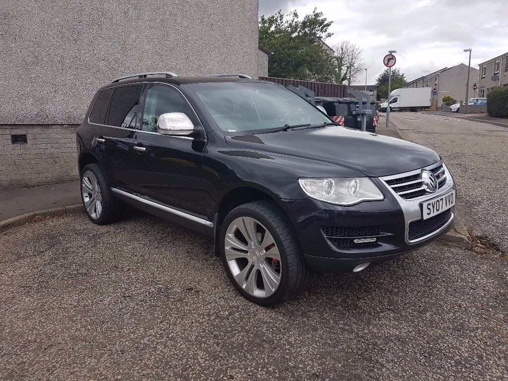 vw touareg 2 5 tdi r5 for sale or swap low mileage in aberdeen gumtree. Black Bedroom Furniture Sets. Home Design Ideas
