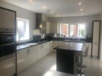 Complete Kitchen w/ Island 3 yrs old -inc integrated Fridge, Freezer, Double Oven, Hob and Extractor