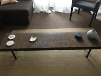 Coffee table in natural cork in perfect state
