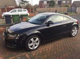 Audi TT 2.0T FSI 2dr for sale * black with red leather * low mileage