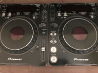 2 x Pioneer CDJ 1000 mk3 for sale