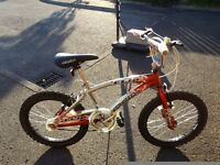 20in boys bike, in excellent condition, suit age 7-12, suitable Xmas present