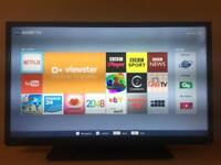 "40"" FULL HIGH DEFINITION SMART LED TV WITH WIFI BUILT-IN TOSHIBA"