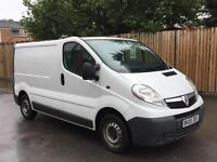 2008/08 Vauxhall Vivaro 2.0 CDTI 115 ps 6 Speed SWB-2 owners from new-Air Con