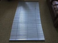 Silver-effect 90cm-wide Venetian blind by Habitat