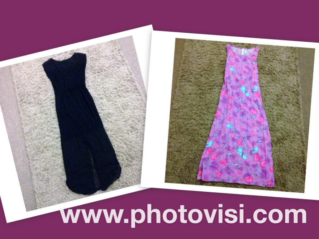 2 x Womens size 12 maxi dresses from Warehouse