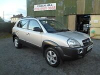 2008 HYUNDAI TUCSON DIESEL 6 SPEED FULL YEARS MOT EXCELLENT CONDITION MUST BE SEEN AND DRIVEN