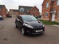 2010 FORD FIESTA TITANIUM 1.6 DIESEL 12 MONTH MOT FULLY SERVICED LOW MILEAGE FULL HPI CLEAR 1 OWNER