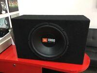 JBL 1000w BassBox and Amplifier
