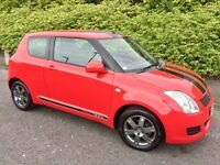 2009 SUZUKI SWIFT 1.3 GLS WITH SPORT LOOK.