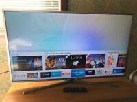 "Samsung 40"" 4K Ultra HD Smart TV"
