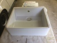 Ceramic Belfast Sink - 59cm x 50cm x 20cm - Perfect condition