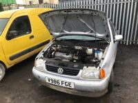 Volkswagen polo petrol 99 year parts available gearbox manual auto alloy wheels