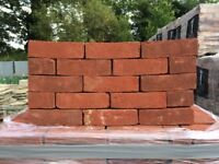 NEW HANDMADE 65MM SWANAGE HEATHER RED BRICKS.