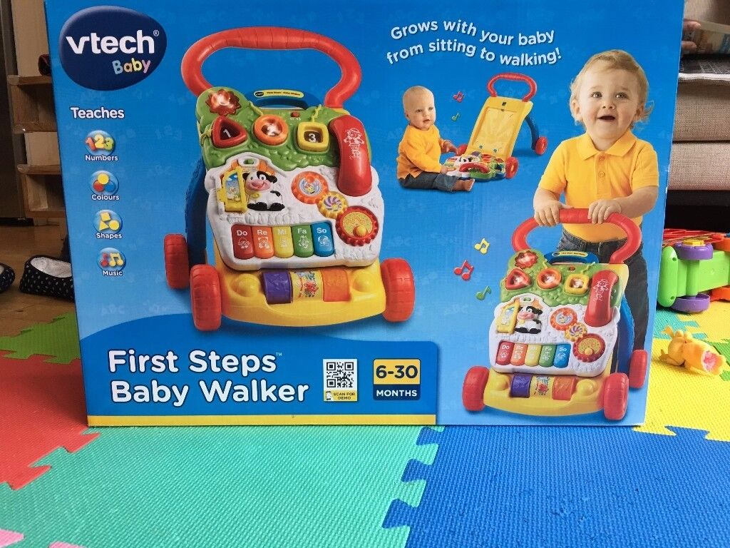 vtech First Steps Baby Walker brand new and unopened.