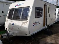 2007 Bailey Pageant Bordeaux 4 Berth Fixed Bed Caravan with Motor Mover