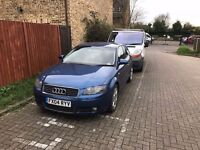 Audi a3 2.0 tfsi petrol manual starts and drives needs tlc bargain cheap quick sale spares or repair