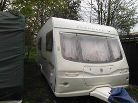 Avondale Argente 550S 4 Berth Caravan 2005
