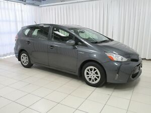 2015 Toyota Prius V RARE PRUIS V HYBRID 5DR HATCH!! BACKED WITH