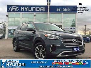 2017 Hyundai Santa Fe XL PREM AWD|BACK-UP CAM|PARKING SENSORS|