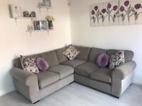 NEXT Grey Corner 5 Seater Sofa