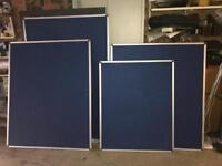 x3 Felt & Aluminium frame Notice boards