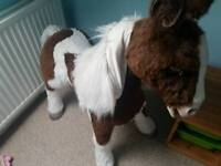 Gorgeous toy horse, 4ft high