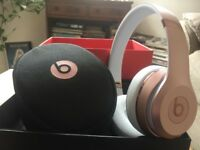 Beats by Dre Solo3 On-Ear Wireless Headphones - Rose Gold
